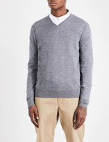 Michael Kors V-neck merino-wool jumper
