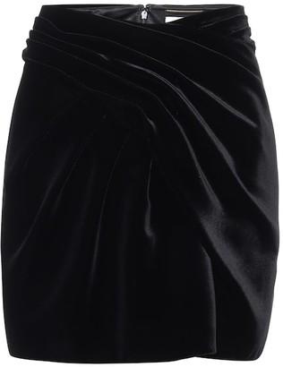 Saint Laurent Velvet miniskirt
