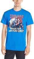 Marvel Men's Avengers Civil War Whose Side are You On T-Shirt