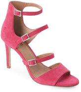 Tahari Lipstick Pink Laos Strappy High Heel Sandals