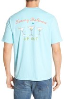 Tommy Bahama Men's Big & Tall 'Lip Out' Graphic T-Shirt