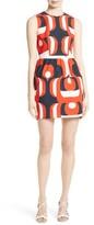 Milly Women's Miranda Stretch Cotton Minidress
