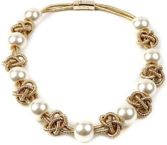 Amrita Singh Pearl Knot Necklace