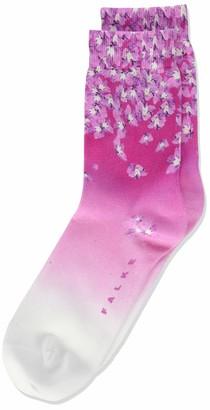 Falke Girl's Flower Print Calf Socks
