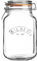 KILNER Kilner Square Clip Top Jar 1.5 Litre