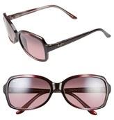 Maui Jim Women's 'Cloud Break' 56Mm Polarized Sunglasses - Maui Ht/ Tortoise