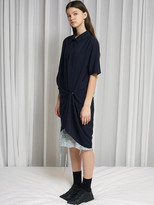 17 Summer Locle Shirts Snap Dress - Navy