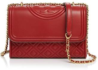 Tory Burch Fleming Small Leather Convertible Shoulder Bag