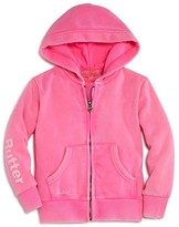 Butter Shoes Girls' Sugar Rush Embellished Fleece Hoodie - Sizes 4-6