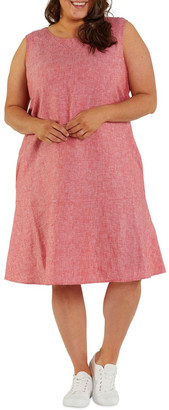 Yarra Trail Crossdye Swing Dress