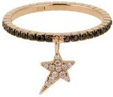 Diane Kordas Diamond & rose-gold Star ring