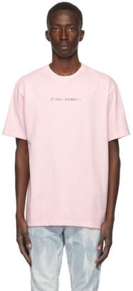 Double Rainbouu Pink Logo T-Shirt