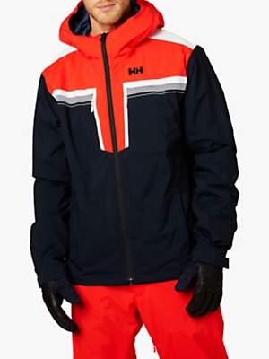 Helly Hansen Dukes Men's Waterproof Ski Jacket, Navy