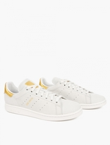 adidas Stan Smith Super 24k Gold Leaf Sneakers