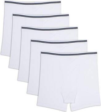 Amazon Essentials Men's Big & Tall 5-Pack Tag-Free Boxer Briefs Underwear