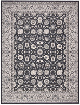 """Nourison Andalusia AND10 Charcoal 3'9"""" x 5'9"""" Area Rug"""
