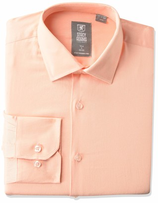 Stacy Adams Men's Big & Tall Modern Fit Solid Satin