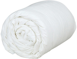 Down etc Essential Summer Weight White Goose Down Comforter, Full/Queen