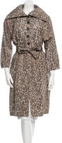 Derek Lam Silk Trench Coat
