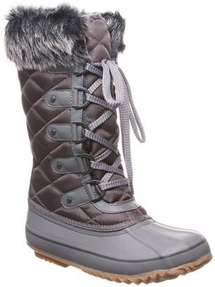 BearPaw McKinley Faux Fur & Genuine Sheepskin Waterproof Quilted Boot
