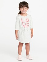 Old Navy Cinched-Waist Jersey Dress for Toddler Girls