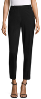 Lafayette 148 New York Cotton Slim Cuffed Pant