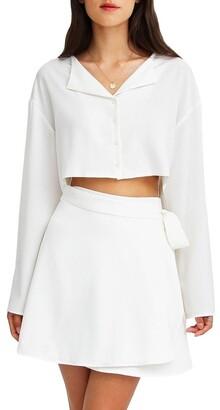 Belle & Bloom Before You Go Skirt Set White XS/S