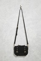 Forever 21 FOREVER 21+ Buckled Crossbody Bag