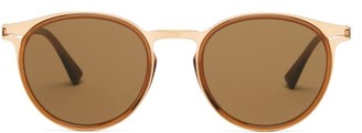 Mykita X Damir Doma Stainless Steel Sunglasses - Mens - Gold