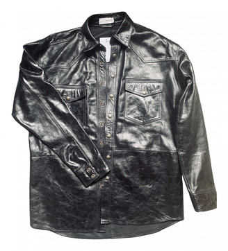 Faith Connexion Black Leather Jackets