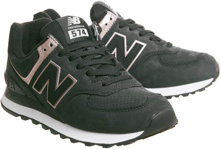 best authentic 8be9c b60a2 Womens **New Balance 574 Trainers By Office - Grey