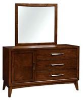 Marlborough 3 Drawer Dresser George Oliver Color: Brown Cherry