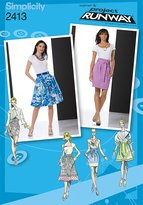 Simplicity Sewing Pattern 2413 Misses' Skirts