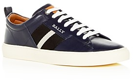 Bally Men's Helvio Leather Low-Top Sneakers