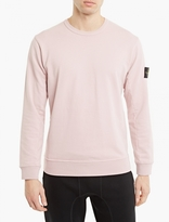 Stone Island Pink Cotton Sweatshirt