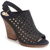 Vince Camuto Women's Janay Diamond Perforated Slingback Sandal
