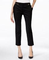 Calvin Klein Zip-Detail Ankle Pants