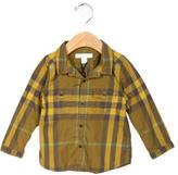 Burberry Boys' Nova Check Button-Up Shirt