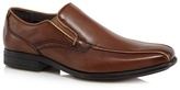 Hush Puppies Brown 'carter Maddow Tramline' Slip On Shoes