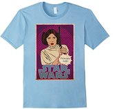 Star Wars Princess Leia Vintage Trading Card Graphic T-Shirt