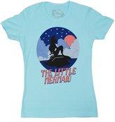 Disney Little Mermaid Ariel Starry Night Blues Juniors T-shirt (XXL , )
