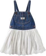 Osh Kosh Oshkosh White Tulle Skirt Jumper - Baby Girls 3m-24m