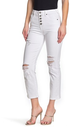 True Religion Star Button Skinny Jeans