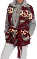 Polo Ralph Lauren Intarsia Open Front Cardigan