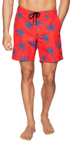 Marc by Marc Jacobs Woven Printed Swim Trunks