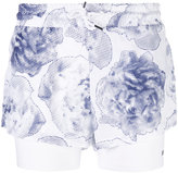 adidas by Stella McCartney Run 2 in 1 shorts - women - Recycled Polyester - S