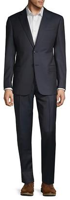 Armani Collezioni Classic Fit G-Line Wool, Silk Cashmere Blend Suit