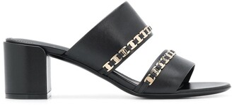 Salvatore Ferragamo tiny Vara bow applique sandals