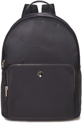 Kate Spade Taylor Large Leather-trimmed Shell Backpack
