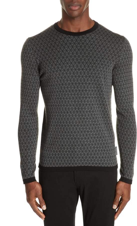 Emporio Armani Crewneck Wool Sweater